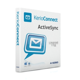 Kerio Connect Standard License ActiveSync Extension, Additional 5 users License